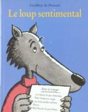 Le loup sentimental - Couverture - Format classique