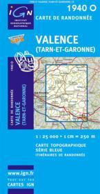 Valence (Tarn et Garonne) - Couverture - Format classique
