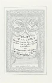 Traité de la chimie - Couverture - Format classique