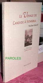 Le voyage de Candide à Istanbul - Couverture - Format classique