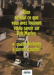 La Legende De Bob Marley - 4ème de couverture - Format classique