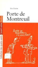 Porte De Montreuil - Couverture - Format classique