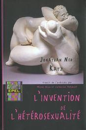 L' Invention De L' Heterosexualite - Intérieur - Format classique