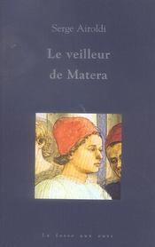 Le Veilleur De Matera - Intérieur - Format classique