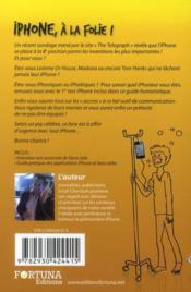 Iphone à la folie ! - 4ème de couverture - Format classique