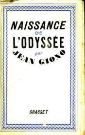 Naissance De L Odyssee. - Couverture - Format classique