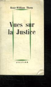 Vues Sur La Justice. - Couverture - Format classique