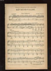 Reveuse-Valse. Piano Conducteur. - Couverture - Format classique