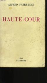 Haute Cour. - Couverture - Format classique
