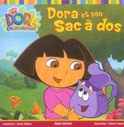 Dora et son sac a dos - Intérieur - Format classique