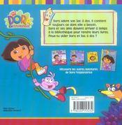 Dora et son sac a dos - 4ème de couverture - Format classique