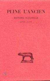 Histoire naturelle L27 - Couverture - Format classique