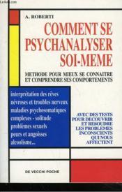 Comment Se Psychanalyser Soi-Meme - Couverture - Format classique