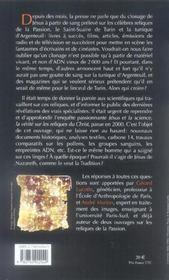 Le linceul de turin et la tunique d'argenteuil - 4ème de couverture - Format classique