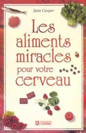Aliments miracles pour cerveau - Intérieur - Format classique