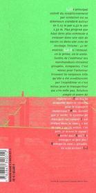Container ; traite de remplissage - 4ème de couverture - Format classique