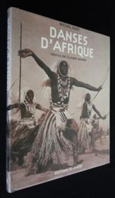 Danses D'Afrique - Couverture - Format classique