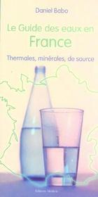 Le guide des eaux en france - Intérieur - Format classique