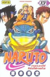 Naruto t.13 - Couverture - Format classique