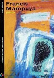 Francis mampuya - peinture (les carnets de la creations) - Couverture - Format classique