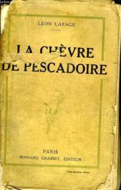 La Chevre De Pescadoire. - Couverture - Format classique