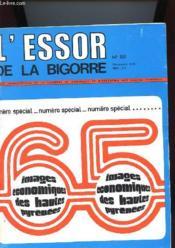 L'Essor De La Bigorre N°88 - 65 Images Economoques Des Hautes Pyrenees - Couverture - Format classique
