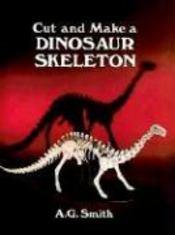 Cut and make a dinosaur skeleton - Couverture - Format classique