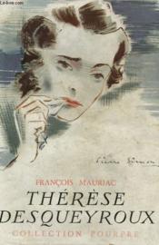 Thérèse Desqueyroux. - Couverture - Format classique