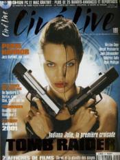 CINE LIVE - N° 47 - Indiana Jolie, la première croisade : TOMB RAIDER - Couverture - Format classique