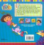 Dora et babouche - 4ème de couverture - Format classique