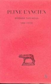 Histoire naturelle L28 - Couverture - Format classique