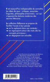 Henri Meshonnic, pour une poétique du rythme - 4ème de couverture - Format classique