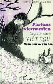 Parlons Vietnamien ; Langue Et Culture - Intérieur - Format classique