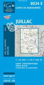 Juillac - Couverture - Format classique