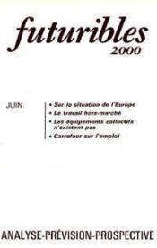 Futuribles 2000 No24 Juin 1979 - Couverture - Format classique