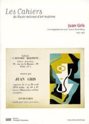 Les Cahiers Du Musee National D'Art Moderne - Juan Gris - Couverture - Format classique