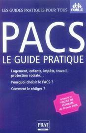 Pacs Le Guide Pratique 2006 Ned - Intérieur - Format classique