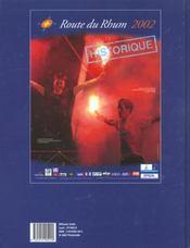 La Route Du Rhum - 4ème de couverture - Format classique