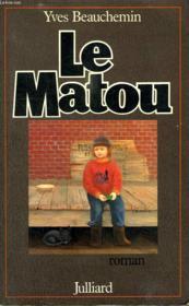 Le Matou. - Couverture - Format classique
