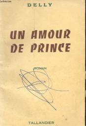 Un Amour De Prince - Couverture - Format classique
