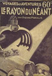 Le Rayon Du Neant - Couverture - Format classique
