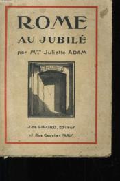 Rome Au Jubile - Couverture - Format classique