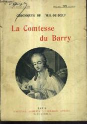 Chroniques De L'Oeil De Boeuf - La Comtesse Du Barry. - Couverture - Format classique