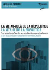 La vie au-delà de la biopolitique - Couverture - Format classique