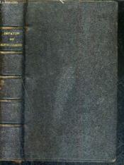 Imitation De Jesus Christ - Traduite Du Latin / Nouvelle Edition. - Couverture - Format classique