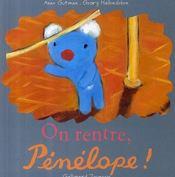 On rentre, Pénélope ! - Couverture - Format classique