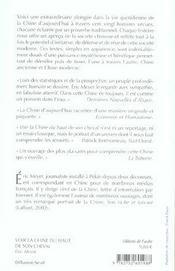Voir La Chine Du Haut De Son Cheval ; Mots Croises De Destin Et Proverbes Chinois - 4ème de couverture - Format classique