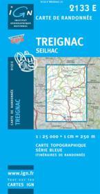Treignac ; Seilhac - Couverture - Format classique
