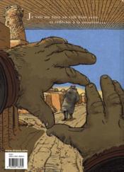 Dans les villages t.6 ; une fuite, deux horizons - 4ème de couverture - Format classique