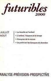 Futuribles 2000 N.25 Juillet Aout 1979 - Couverture - Format classique